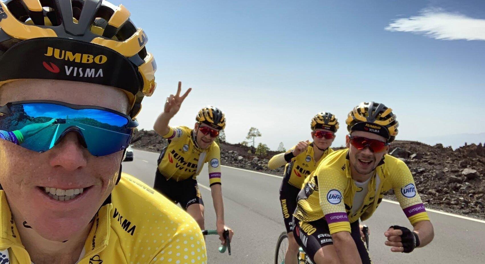 © Roglic soleert naar de zege in de Tour van 2018